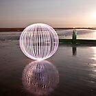 lilac orb - on the beach by Julian Marshall
