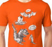 Little Dino Growing Up Unisex T-Shirt