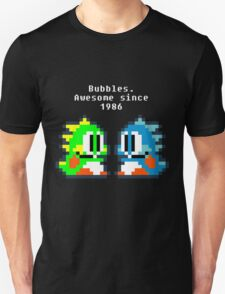 Bubbles. Awesome since 1986 T-Shirt