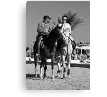 The Flirt, Hurghada, Egypt 2011 Canvas Print