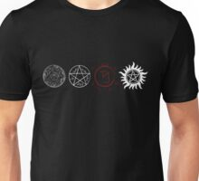 Supernatural Protection (Light Symbols) Unisex T-Shirt