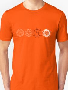 Supernatural Protection (Light Symbols) T-Shirt