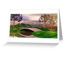 Rainbow Park Greeting Card
