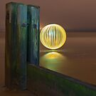 yellow orb - gentle reflection by Julian Marshall