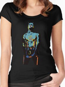 Daredevil Popart Women's Fitted Scoop T-Shirt
