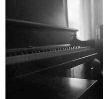 "He says, ""Son, can you play me a memory...."" Photographic Print"