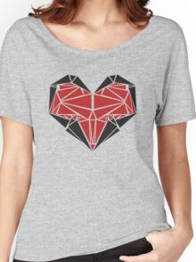 Triangle Love Women's Relaxed Fit T-Shirt