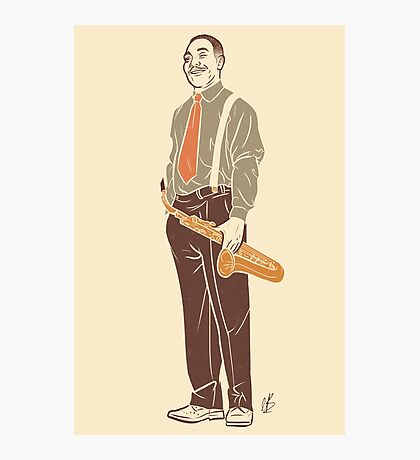 Charlie Parker Photographic Print