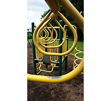 Monkey Bars Photographic Print