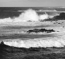 Tidal waves, Easter Island by Maggie Hegarty