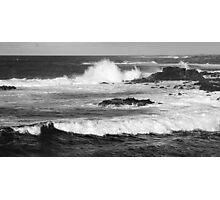Tidal waves, Easter Island Photographic Print