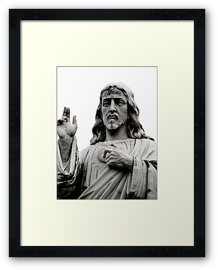 Sacred Heart Jesus by Jason Dymock Photography