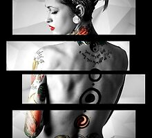 Tattoed Girl by AdowN