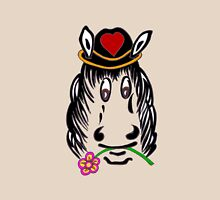 Horse For Fun Tee Shirt. Womens Fitted T-Shirt
