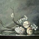 Baseballs and Spring Blossoms by Bruce Haney