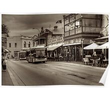 Fremantle Cappuccino Strip Poster