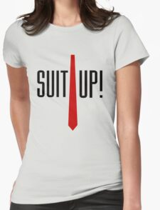 Suit Up Womens Fitted T-Shirt