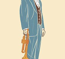 Louis Armstrong by Marco Bortolino