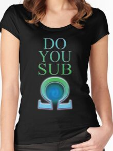 Do You Sub Ohm Women's Fitted Scoop T-Shirt