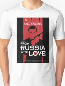 From Russia with Love - Movie Poster T-Shirt