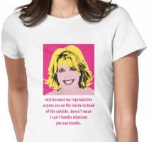 Sam Carter Pop Art  Womens Fitted T-Shirt
