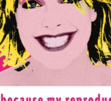 Sam Carter Pop Art  Sticker