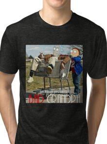 Bad Grandpa: Rick and Morty Tri-blend T-Shirt