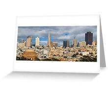 San Francisco Greeting Card