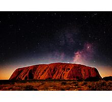 The Dreaming Rock - Night Photographic Print