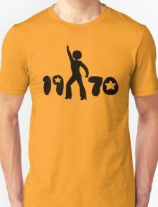 Retro Seventies Man Unisex T-Shirt
