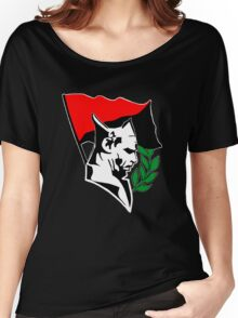 Durruti - Anarchy Flag Women's Relaxed Fit T-Shirt