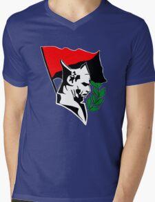 Durruti - Anarchy Flag Mens V-Neck T-Shirt
