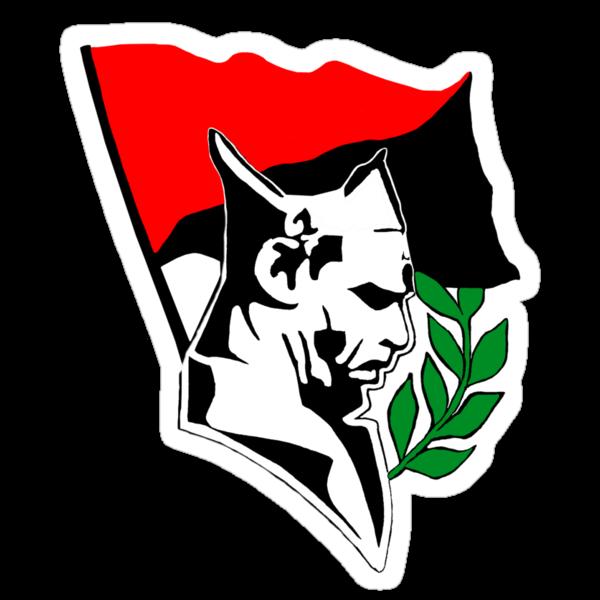 Durruti - Anarchy Flag by Bela-Manson