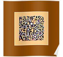 Brown Jazz Poster