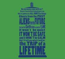 It's Gonna Be Fantastic Dr Who Kids Tee