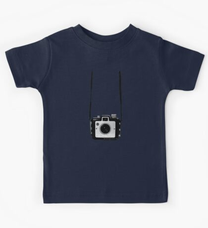 Vintage Camera Kodak Brownie Chiquita 127 Film Kids Tee