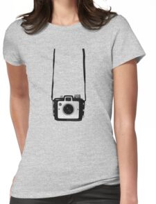 Vintage Camera Kodak Brownie Chiquita 127 Film Womens Fitted T-Shirt