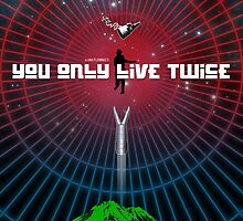 You Only Live Twice - Movie Poster by 547Design