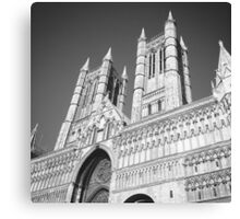 Lincoln's Cathedral Canvas Print