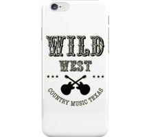 Wild West Country Texas iPhone Case/Skin