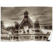 Fremantle Market Poster