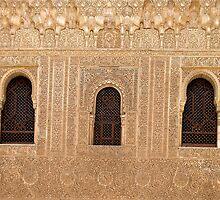 Alhambra detail 1 by Ian Fegent