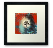 That One Tree Framed Print