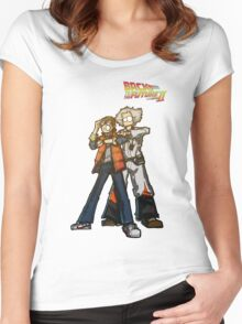 Back to the future 2 Women's Fitted Scoop T-Shirt