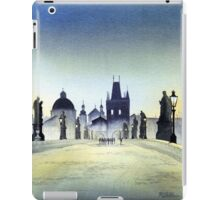 Romantic Evening - Charles Bridge Prague iPad Case/Skin