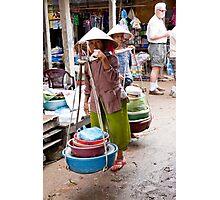 Pots To Go Photographic Print