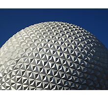 Epcot's Spaceship Earth Photographic Print