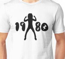 1980s Retro Man  Unisex T-Shirt