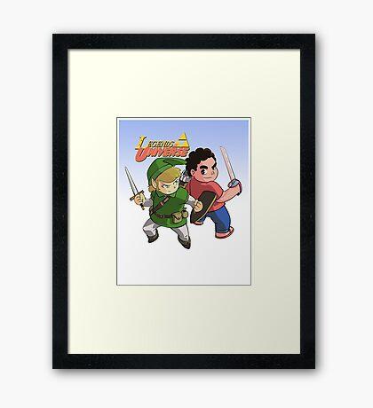 Legends of Universe Framed Print