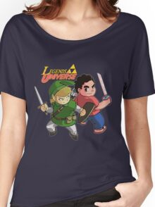 Legends of Universe Women's Relaxed Fit T-Shirt